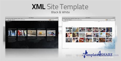 ActiveDen - XML Template V7 Full (White & Black)