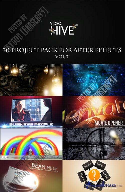 30 Project Pack for After Effects Vol.7 (Videohive)