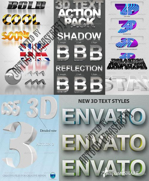 GraphicRiver Photorealistic Layer Styles Pack