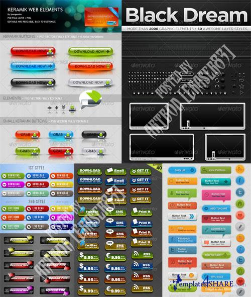 GraphicRiver Web Design Elements Pack