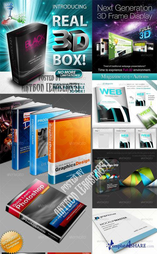 GraphicRiver Mockup Generator Pack