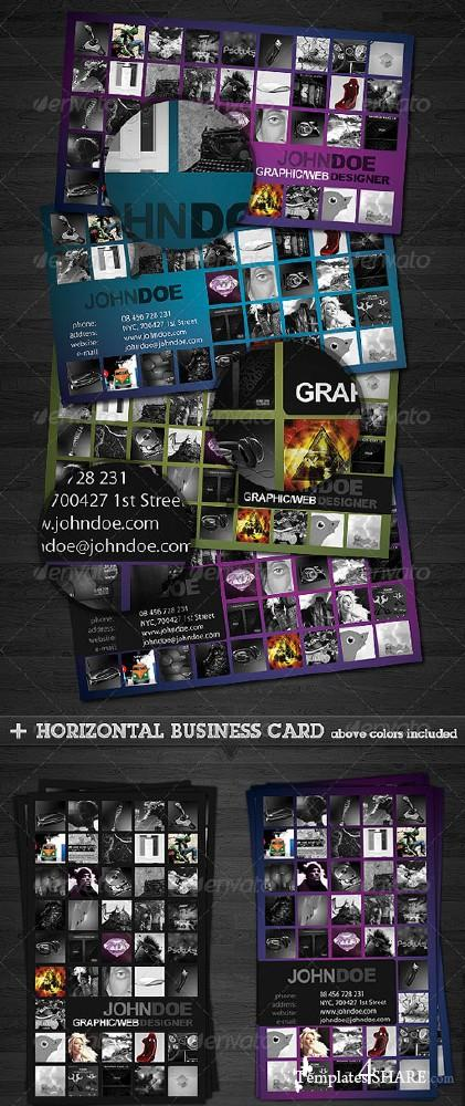 Portfolio Business Card 2.0 (GraphicRiver)