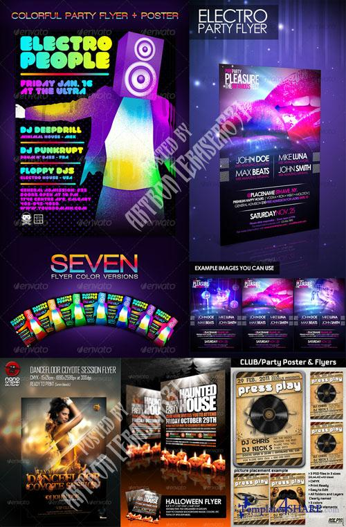 GraphicRiver Flyers Templates Pack 3