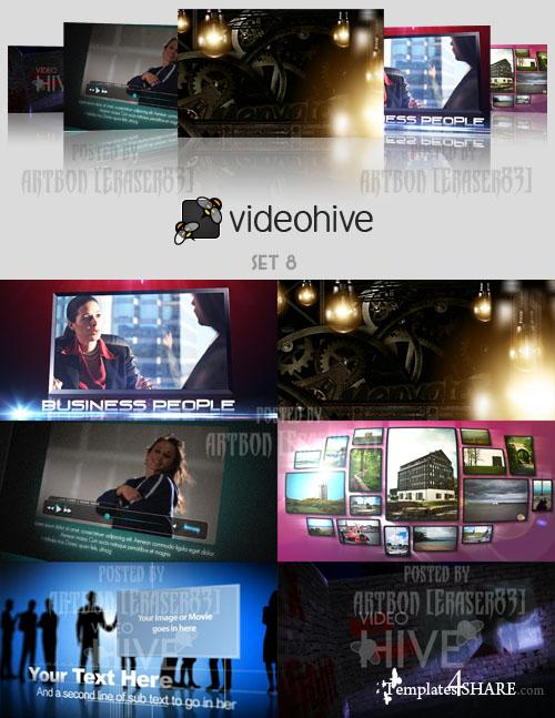 Videohive Projects Pack - Set 8