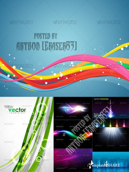 GraphicRiver Colorful Abstract Backgrounds Pack 3
