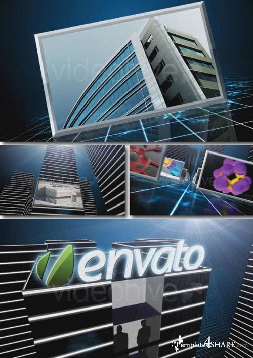 Pure 3D HD Displays V3 - Project for After Effects (Videohive)