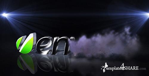 3D Smoke LOGO - Project for After Effects (Videohive)