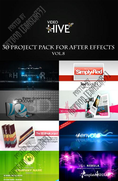 30 Project Pack for After Effects Vol.8 (Videohive)