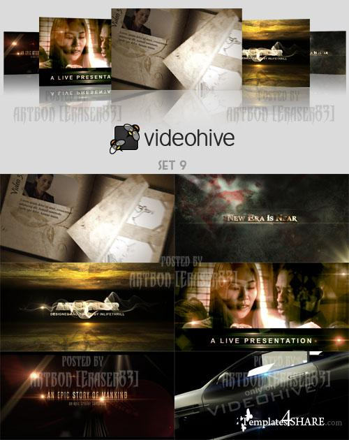 Videohive Projects Pack - Set 9