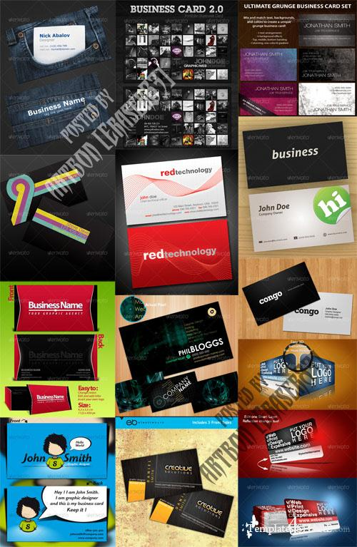 GraphicRiver Business Cards Pack