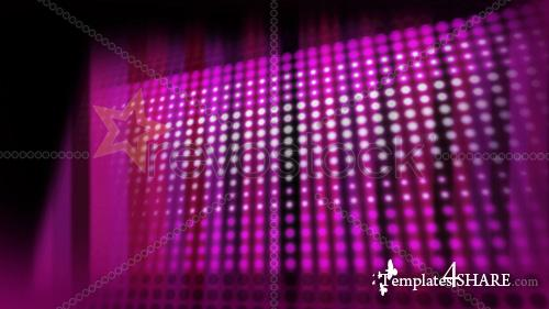 Pink LED Wall - Footage for After Effects (Revostock)