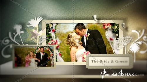 Wedding Pop Up Book - Projects for After Effects (Revostock)