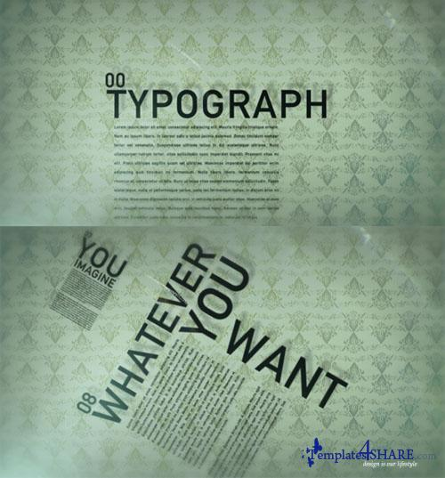 Typograph - Project for After Effects (Videohive)