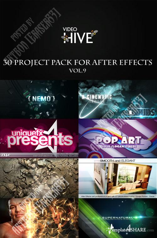 30 Project Pack for After Effects Vol.9 (Videohive)