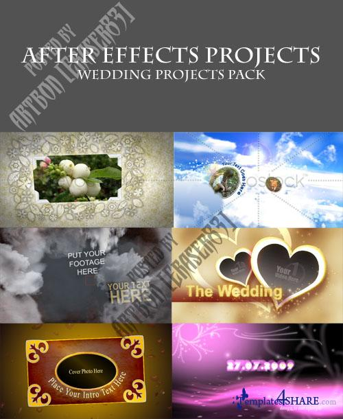 Projects Pack for After Effects - Wedding Pack