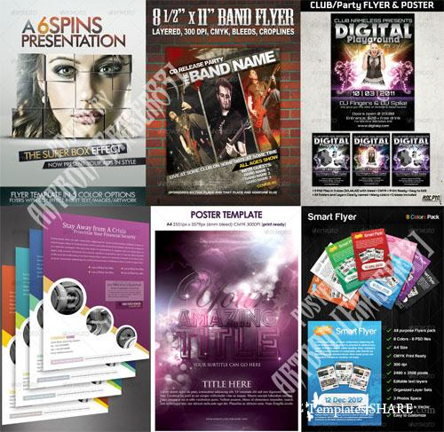 GraphicRiver Flyers Templates Pack 5