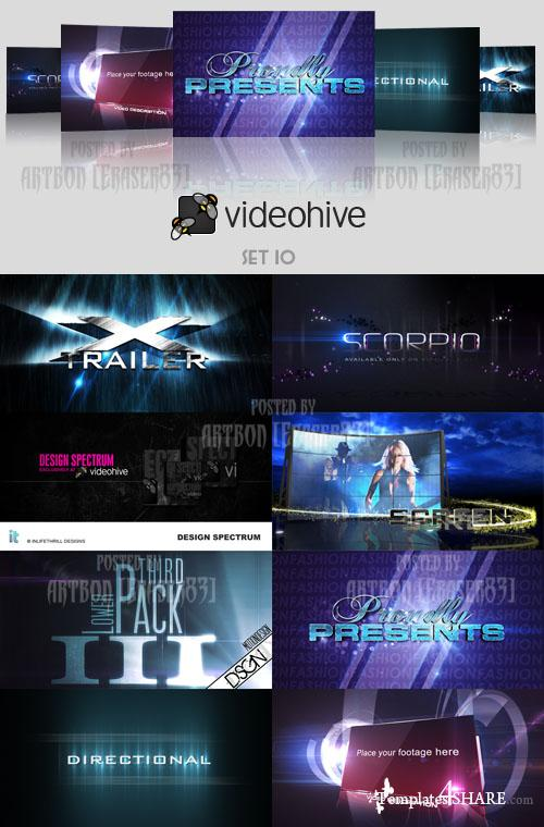 Videohive Projects Pack - Set 10