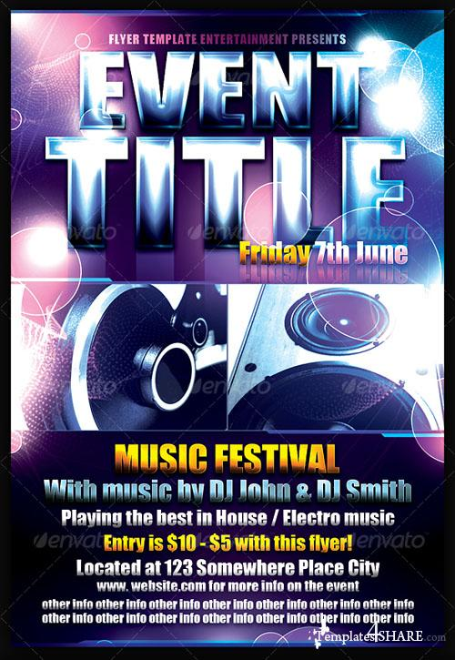 GraphicRiver Event Flyer Template