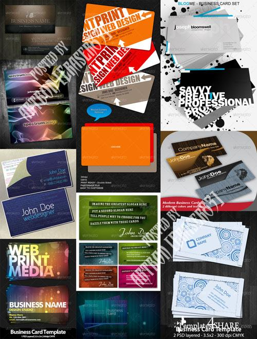 GraphicRiver Business Cards Pack 2