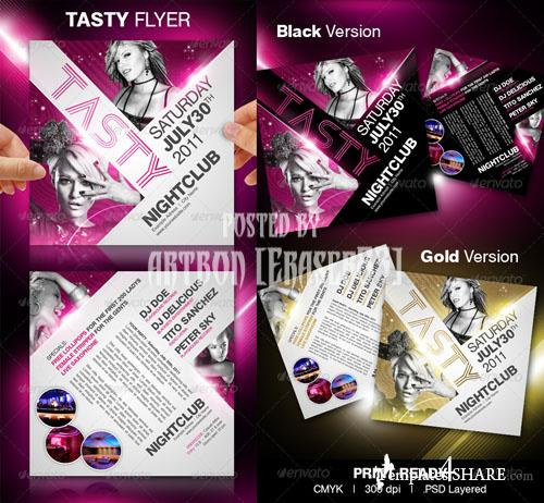 GraphicRiver Tasty Party Flyer Templates