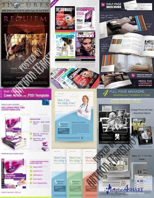 GraphicRiver Flyers Templates Pack 6