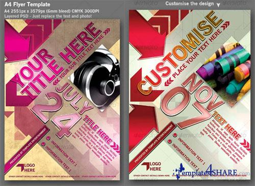 GraphicRiver Flyer Template