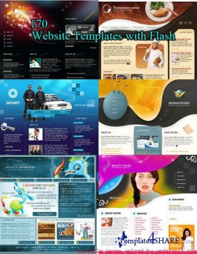 158 Flash Website Templates