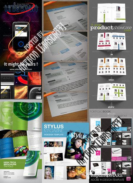 GraphicRiver Flyers Templates Pack 7