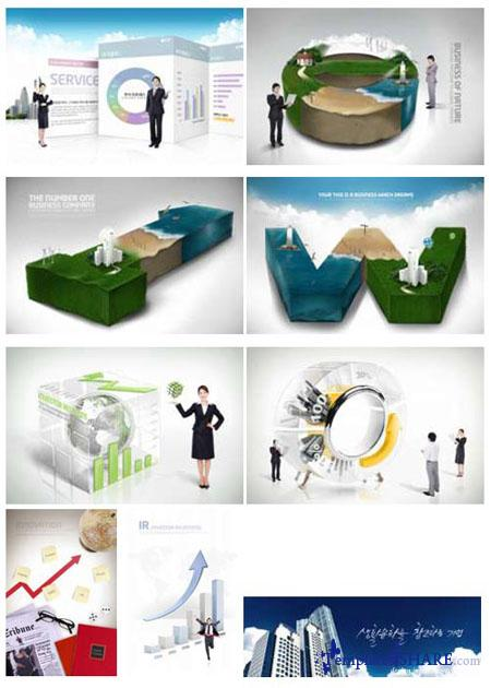 PSD Source Gallery - Business & Technology (Volume 2)