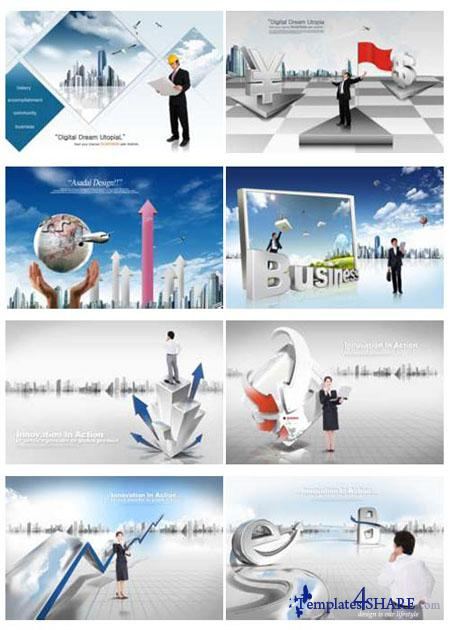 PSD Source Gallery - Business & Technology (Volume 1)