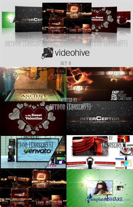 Videohive Projects Pack - Set 11