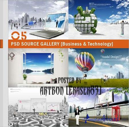PSD Source Gallery - Business & Technology (Volume 5)