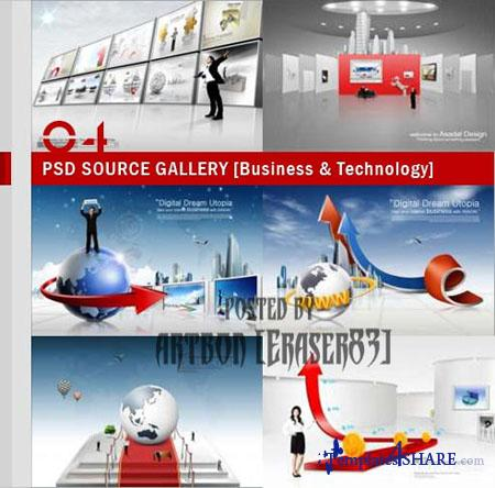 PSD Source Gallery - Business & Technology (Volume 4)