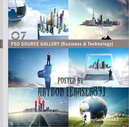 PSD Source Gallery - Business & Technology (Volume 7)