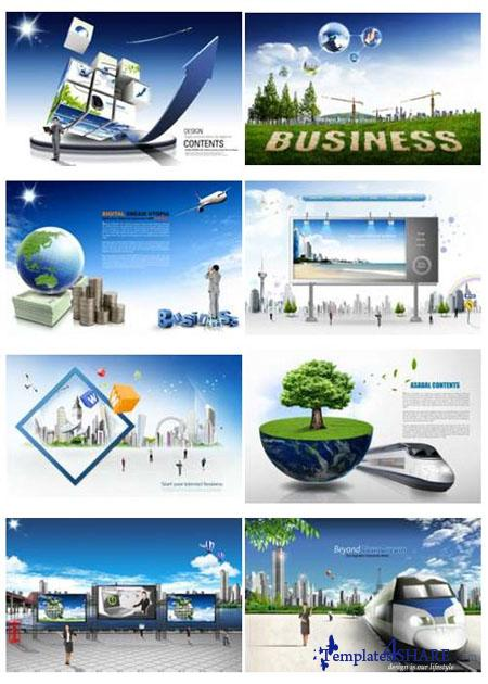 PSD Source Gallery - Business & Technology (Volume 10)