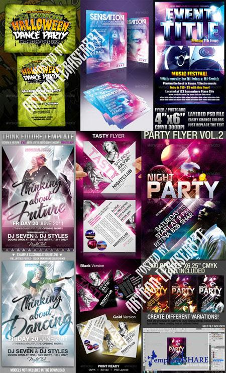 GraphicRiver Flyers Templates Pack 9