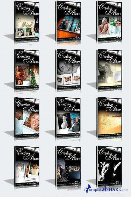 Creative Wedding Album Collection (Volumes 1-12)