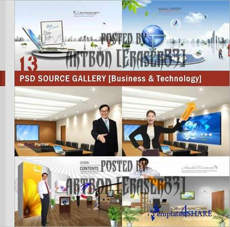 PSD Source Gallery - Business & Technology (Volume 13)