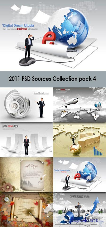 2011 PSD Sources Collection (Pack 4)