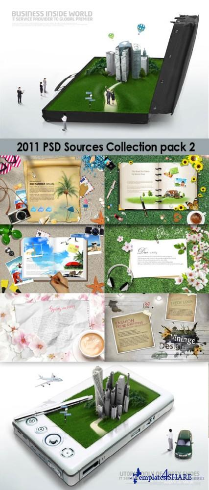 2011 PSD Sources Collection (Pack 2)
