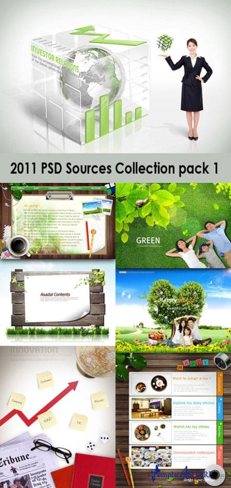 2011 PSD Sources Collection (Pack 1)