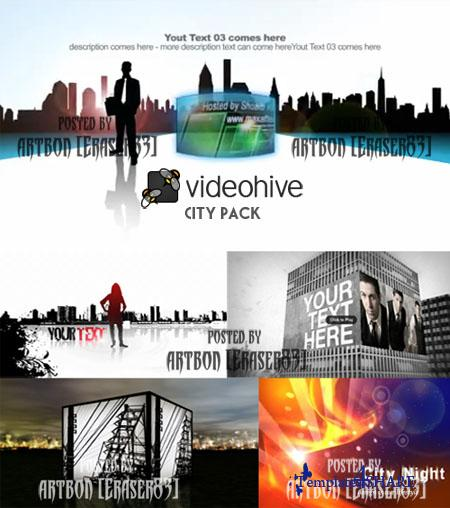 Videohive Projects Pack - City Pack