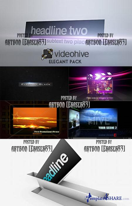 Videohive Projects Pack - Elegant Pack
