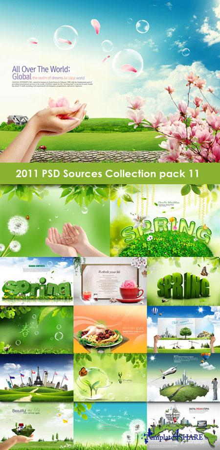 2011 PSD Sources Collection (Pack 11)