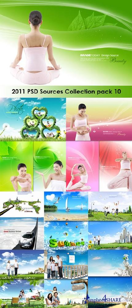 2011 PSD Sources Collection (Pack 10)