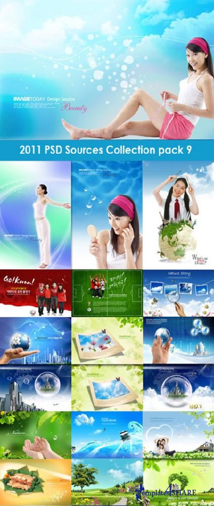 2011 PSD Sources Collection (Pack 9)
