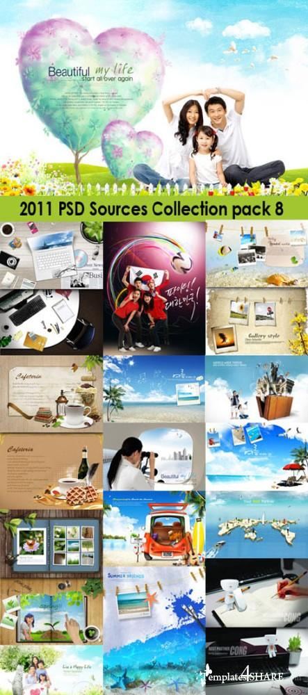 2011 PSD Sources Collection (Pack 8)