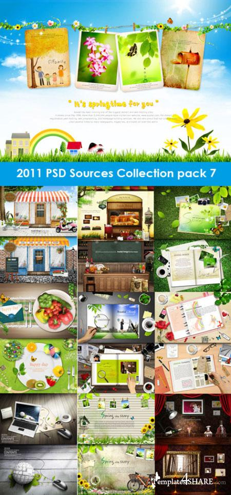 2011 PSD Sources Collection (Pack 7)