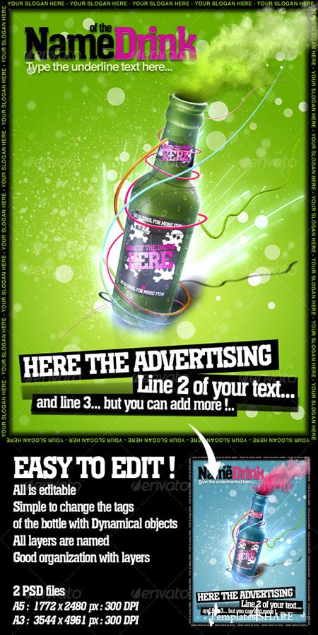 GraphicRiver Advertising Poster