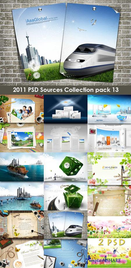 2011 PSD Sources Collection (Pack 13)